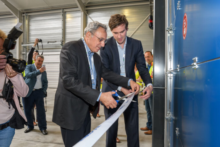 Opening of new production hall in port of Ghent