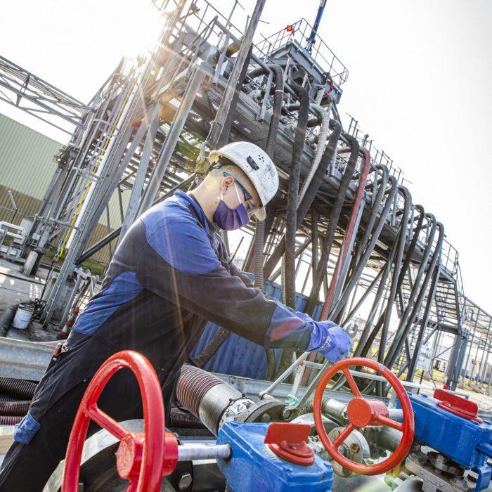 Oliebedrijf Gadot in de Gentse haven